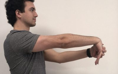 Home Exercise Series: Forearm Stretch for Tennis Elbow